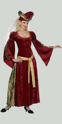 Платье англия 15 век